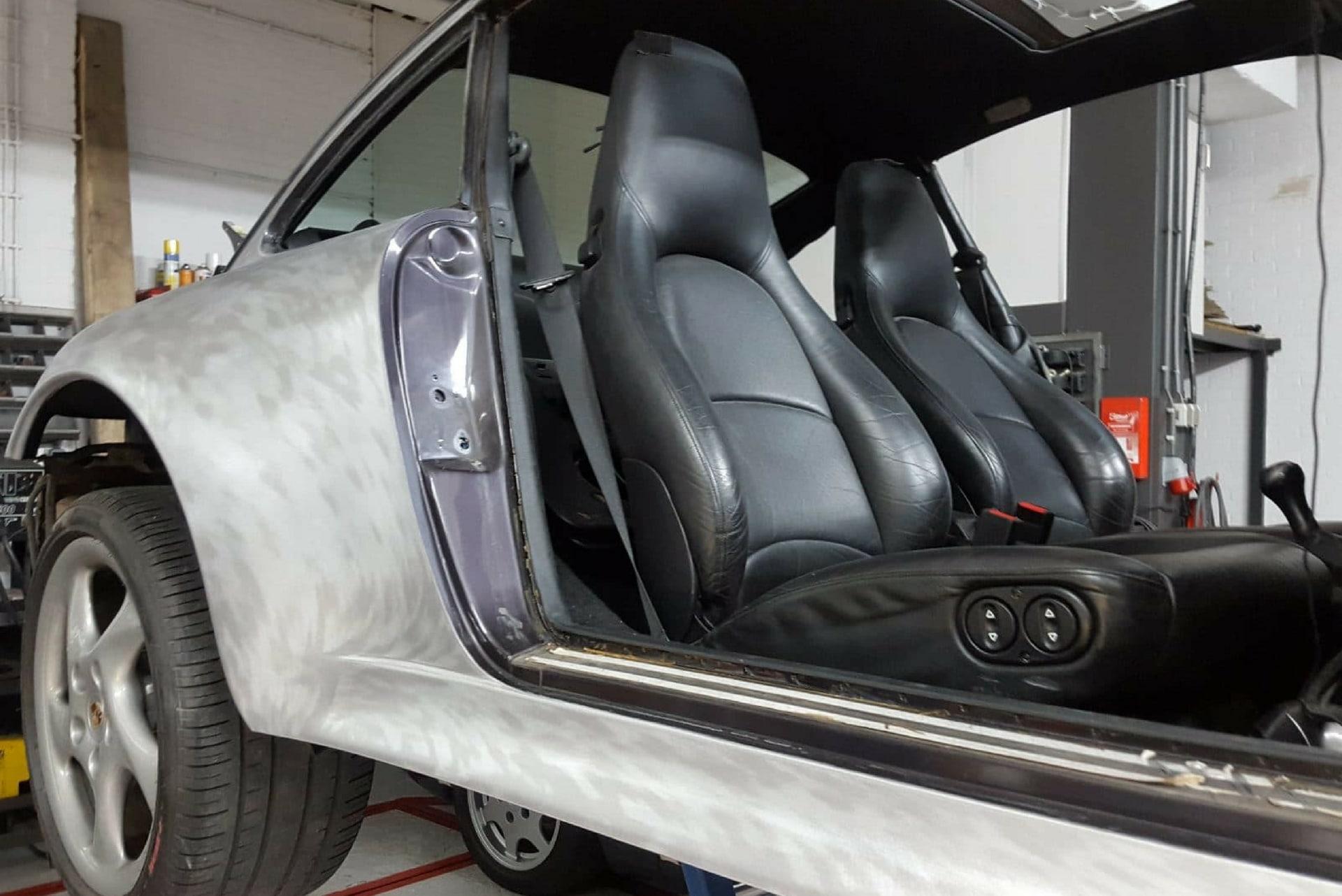 Porsche Carrosserie herstel