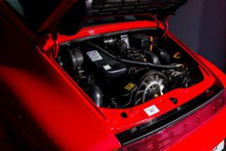 Porsche 964 Carrera 2 Coupe rood 2