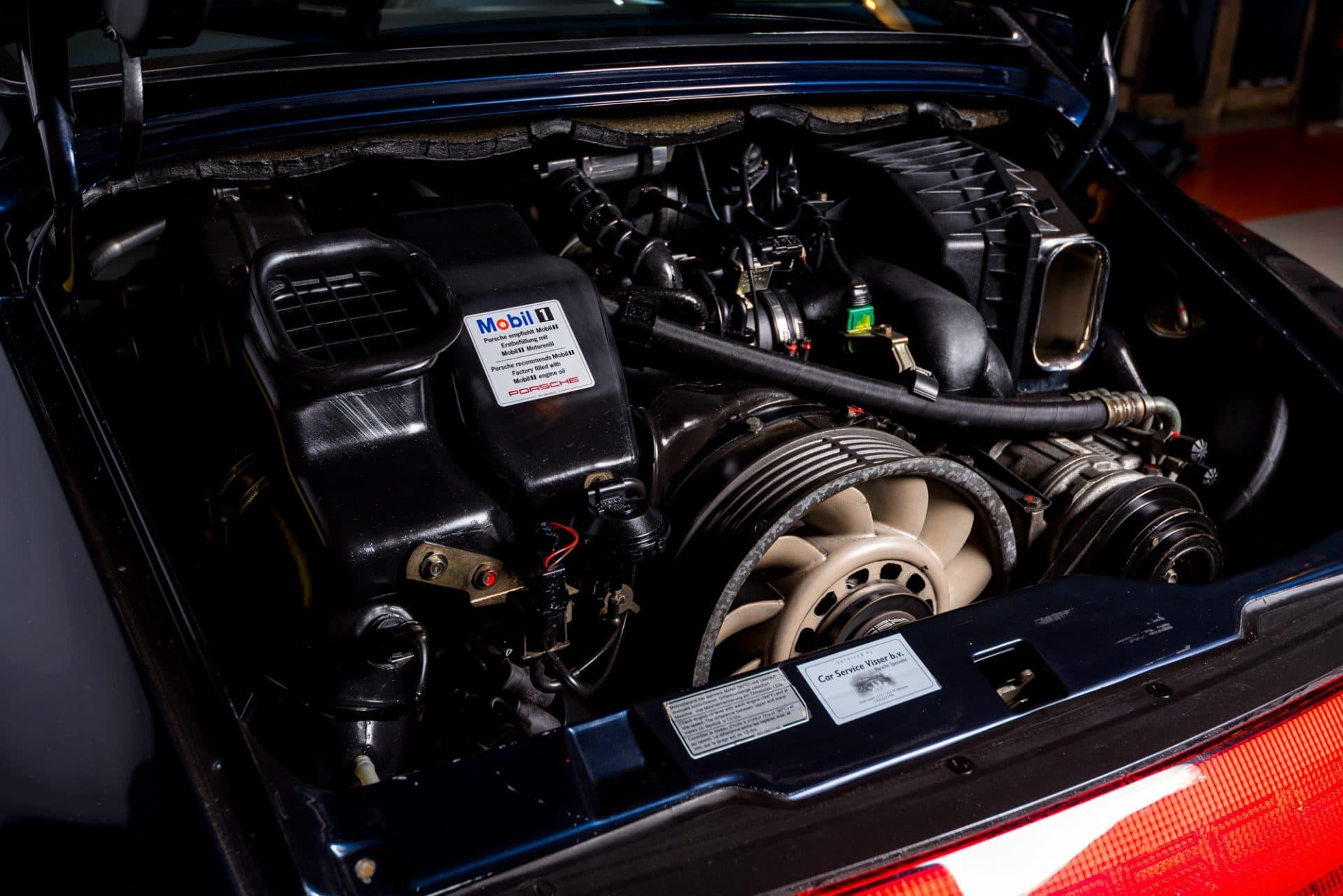 Porsche 993 Blauw -2