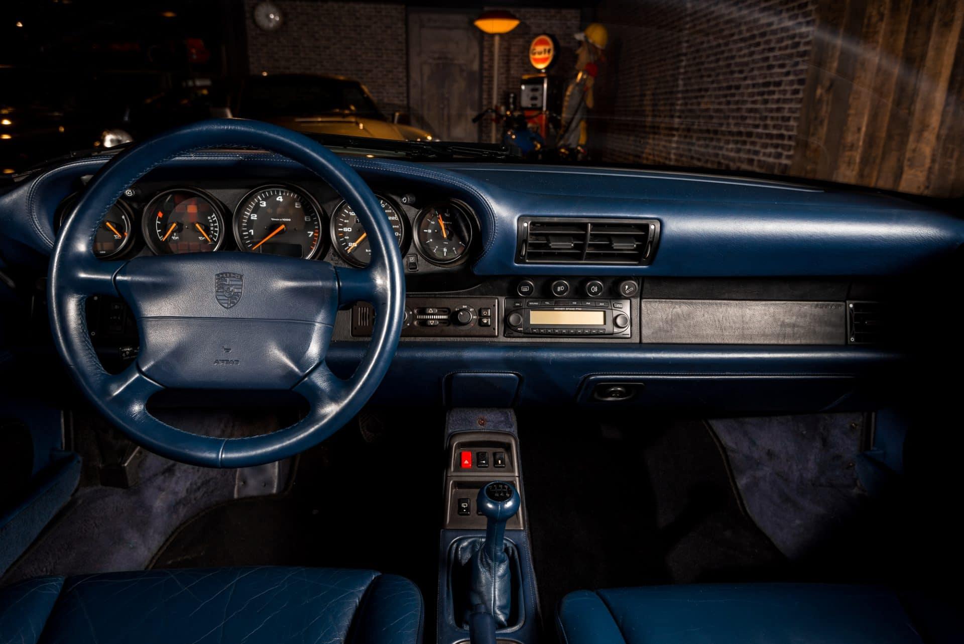 Porsche 993 Blauw -5