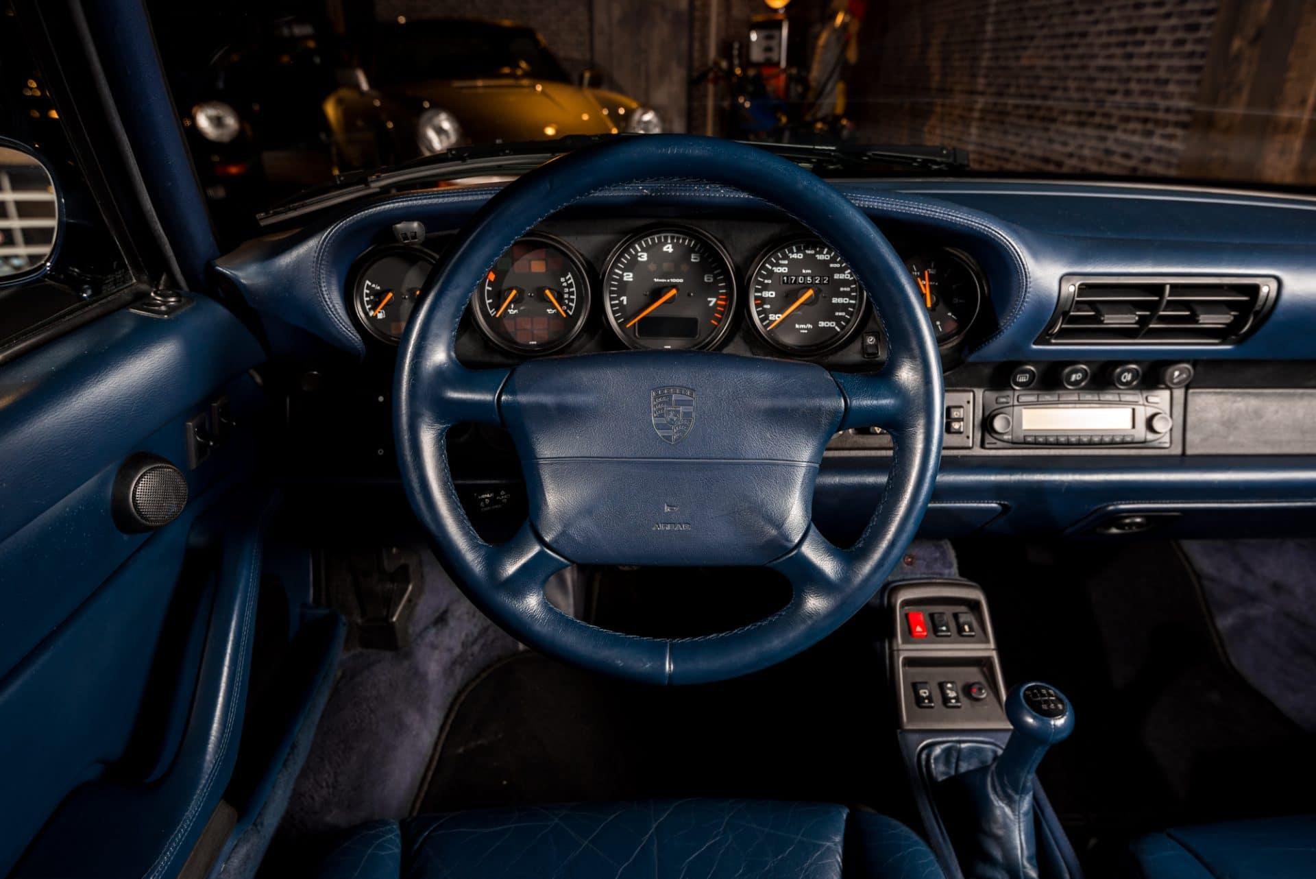 Porsche 993 Blauw -6