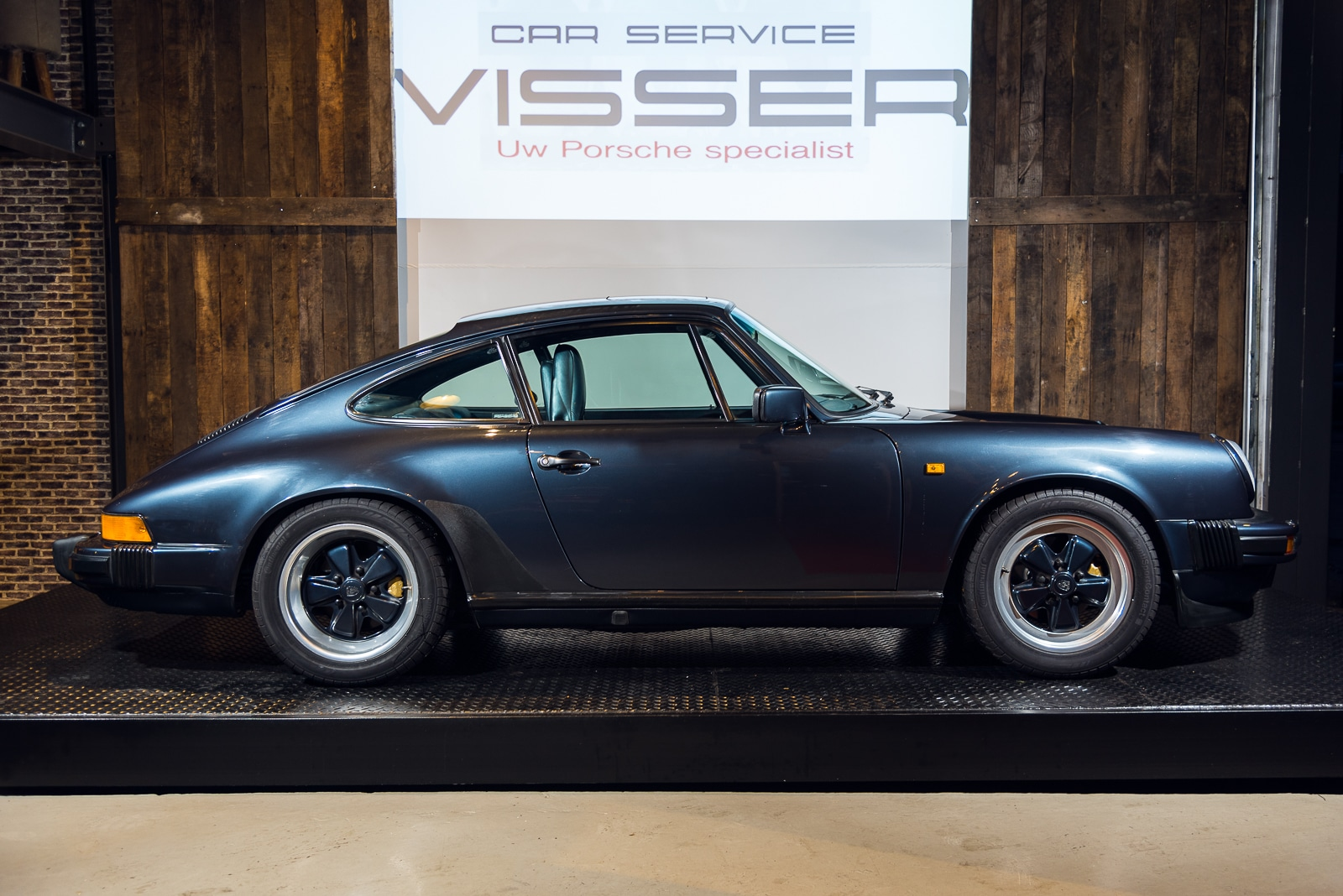 Porsche Carrera 3.2 - Blauw - 5