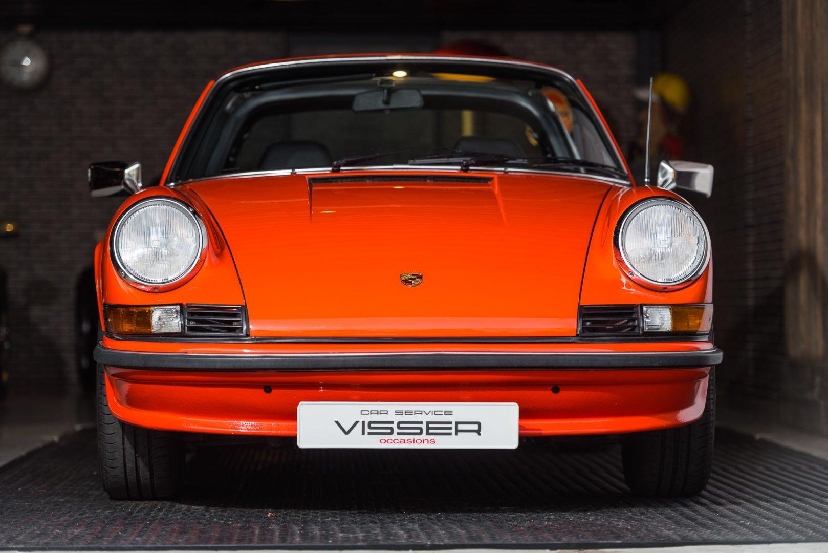 """Porsche 911 Targa 2.4. mechanische injectie Sportomatic """"olieklepje"""""""