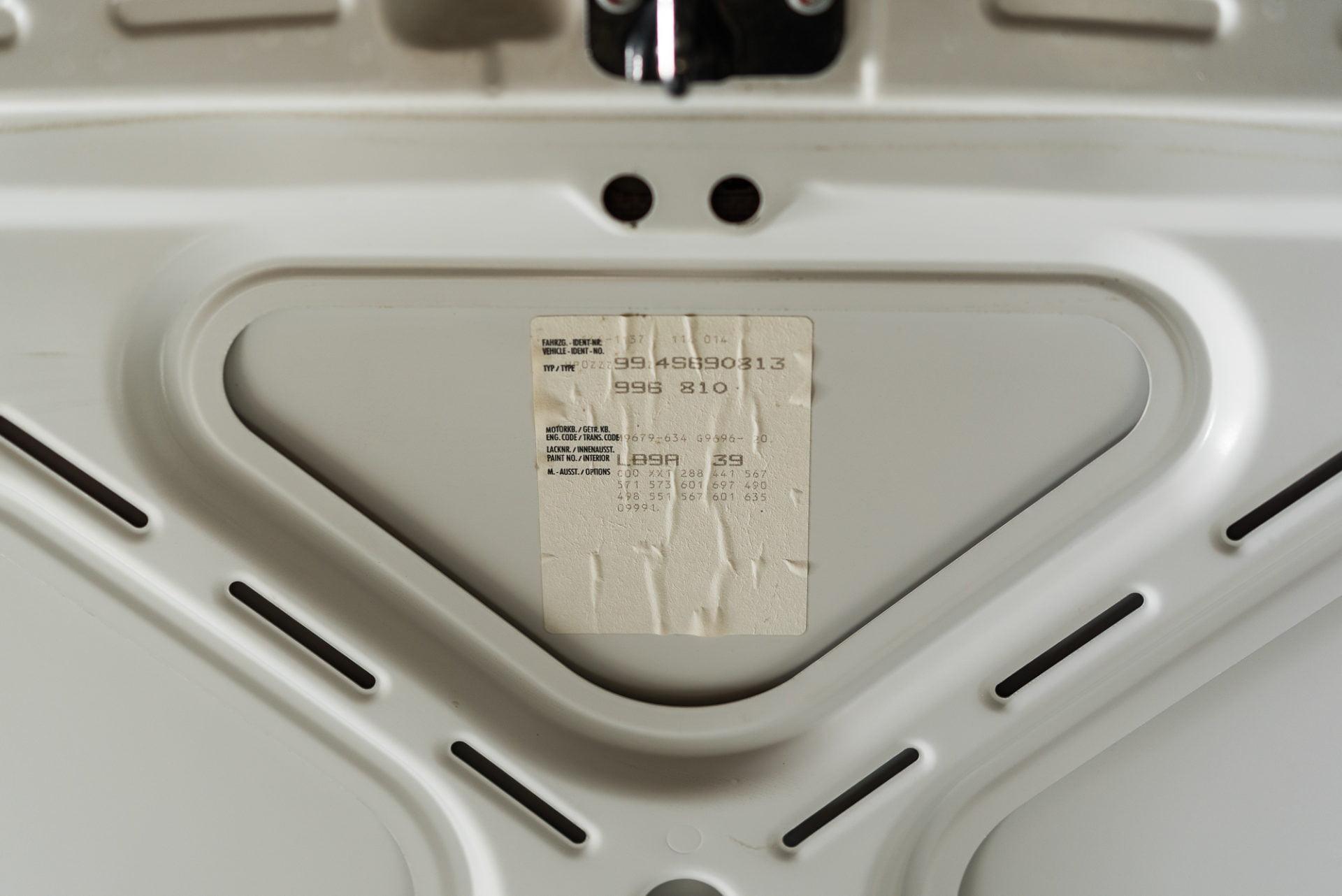 PORSCHE 996 GT3 WIT - 20180407 -11
