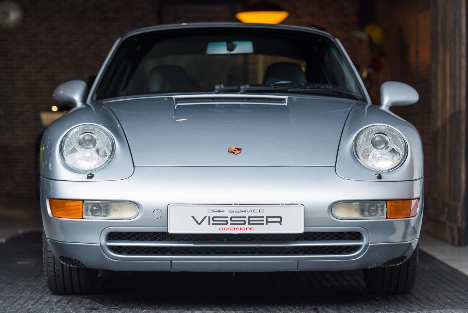 Porsche 993 Carrera Tiptronic S Coupé Polar Zilver