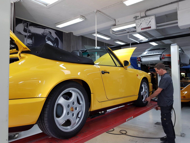Actie gratis zomerkeuring van uw Porsche