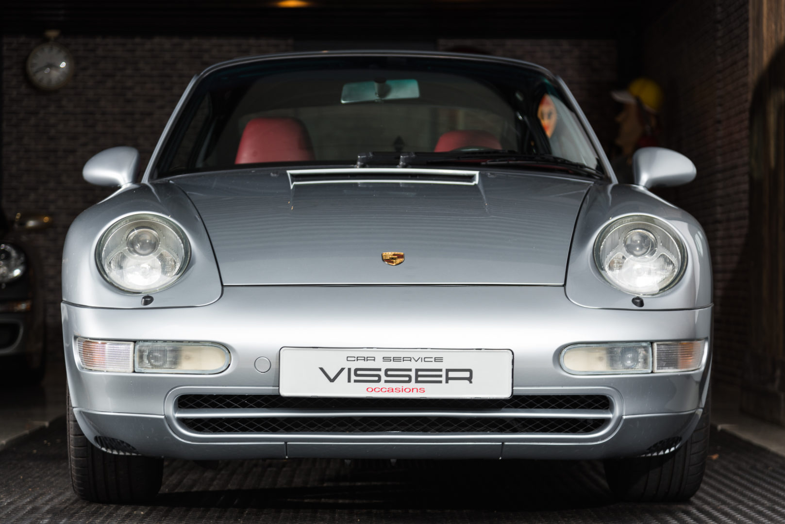 Porsche 993 Carrera 2 Tiptronic Coupé Polar Zilver