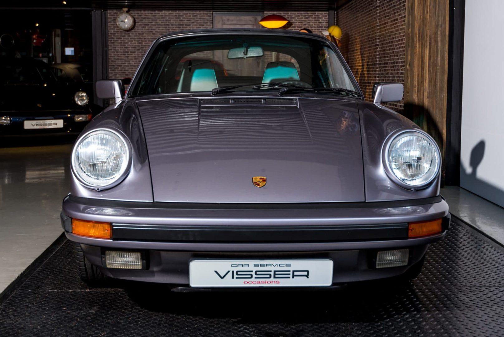 Porsche 911 G50 3.2 handgeschakelde cabriolet Diamantblau-met.