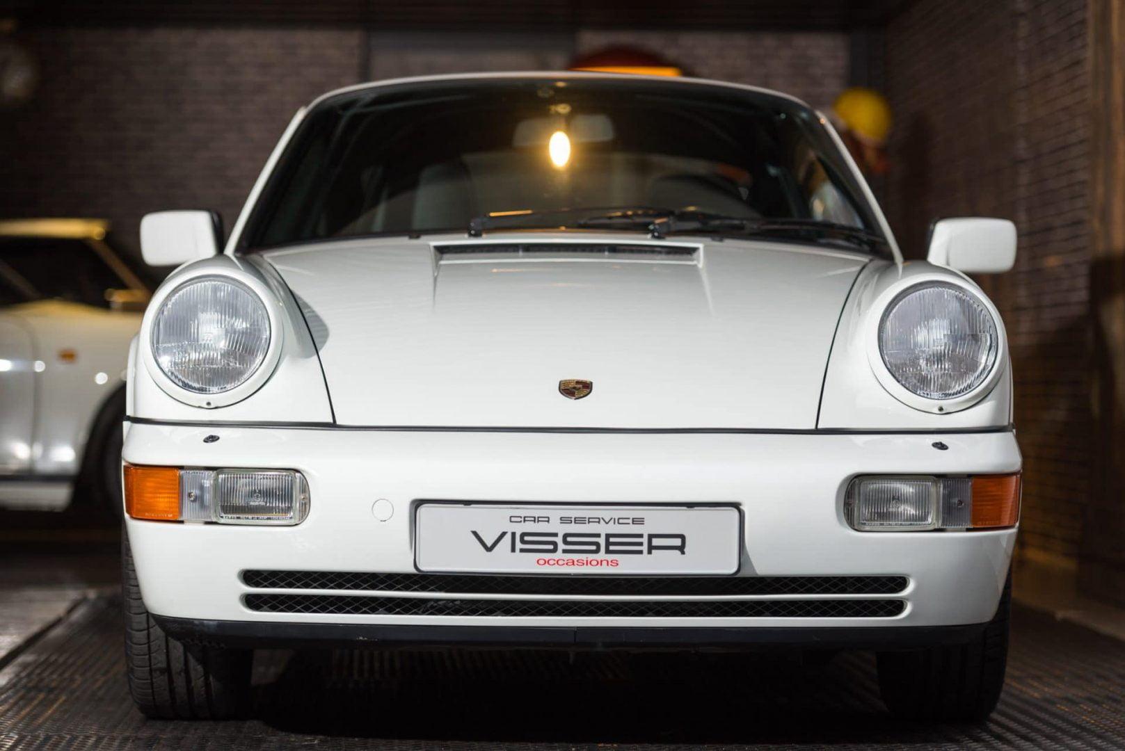 Porsche 964 Carrera 2 handgeschakelde Coupé Grand Prix Weiß