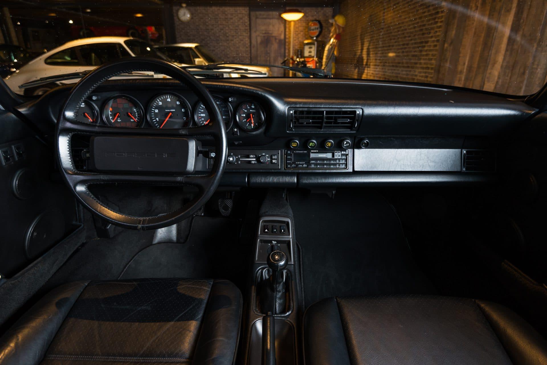 Porsche 964 Carrera 2 Wit -6