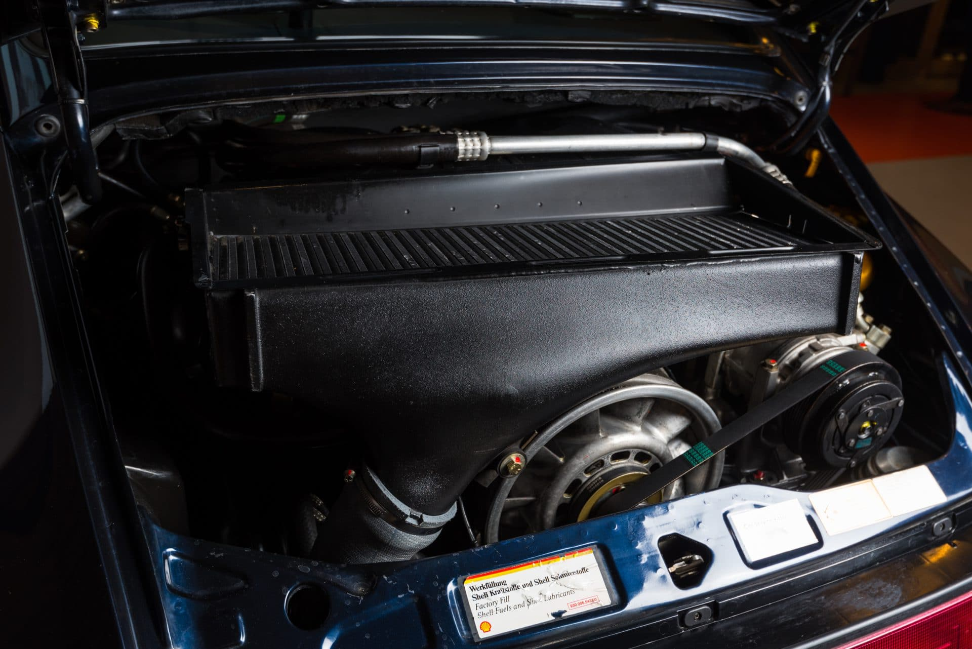 Porsche 964 Turbo Blauw -3