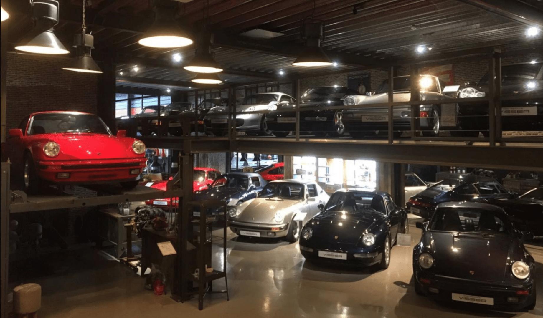 Showroom Car Service Visser Porsche
