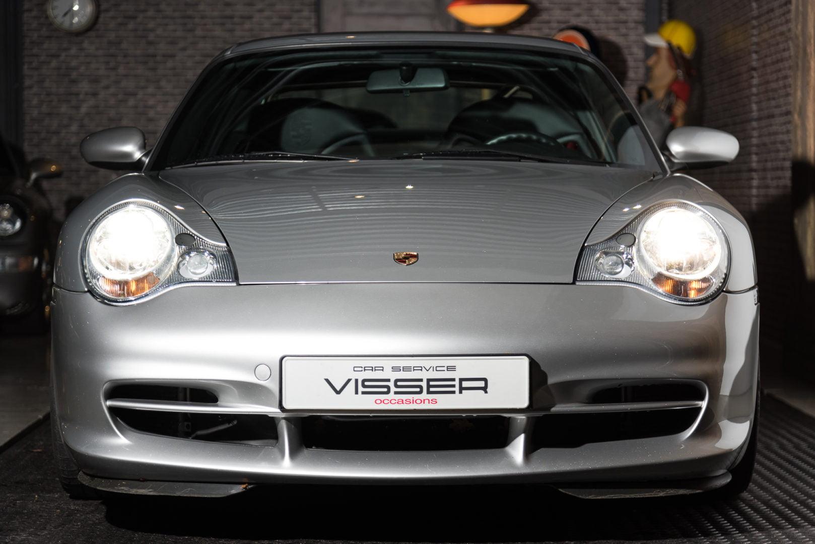 Porsche 996 GT3 handgeschakelde coupé Arktissilber-met.