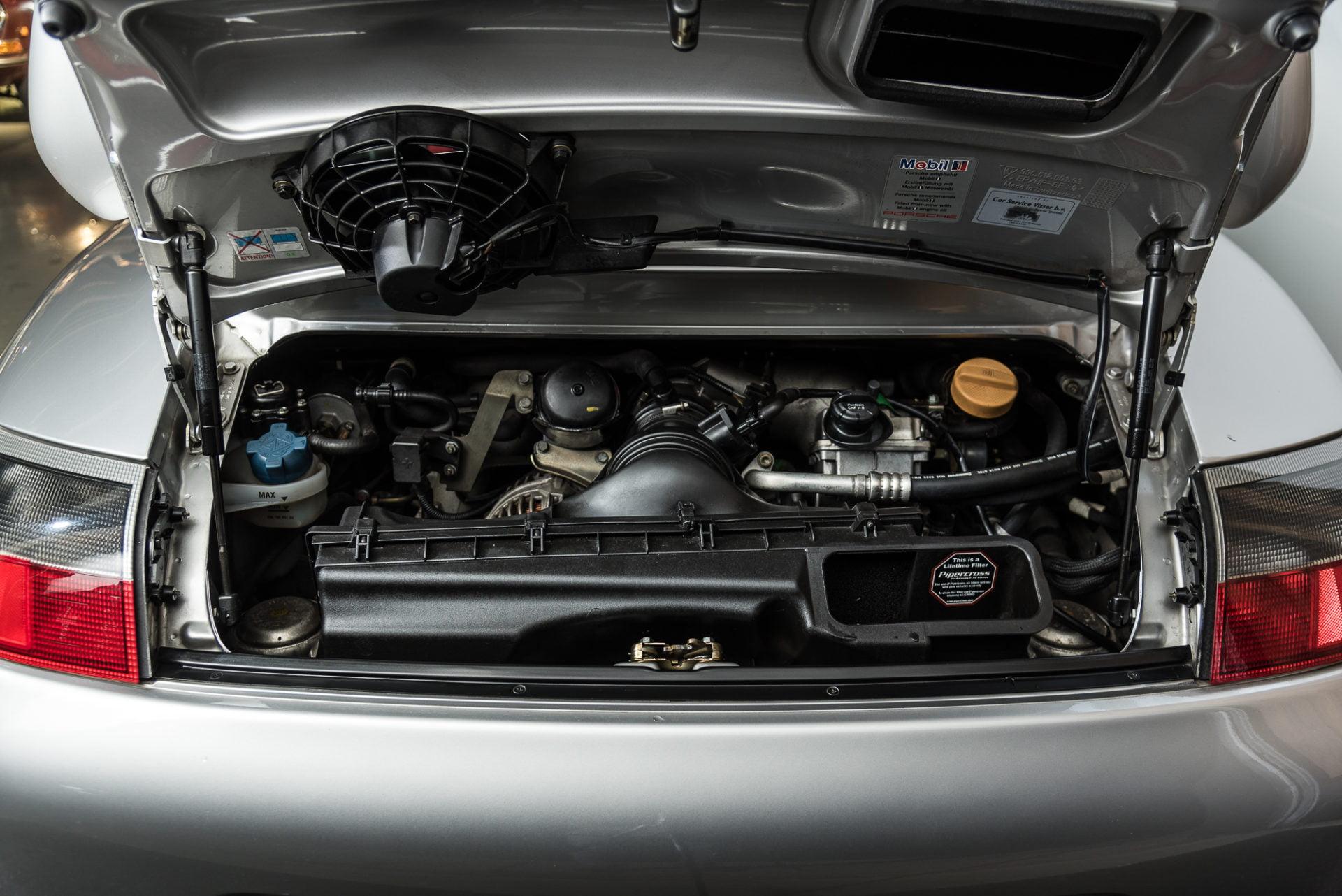 Porsche 996 GT3 Zilvergrijs - 20180314 -6