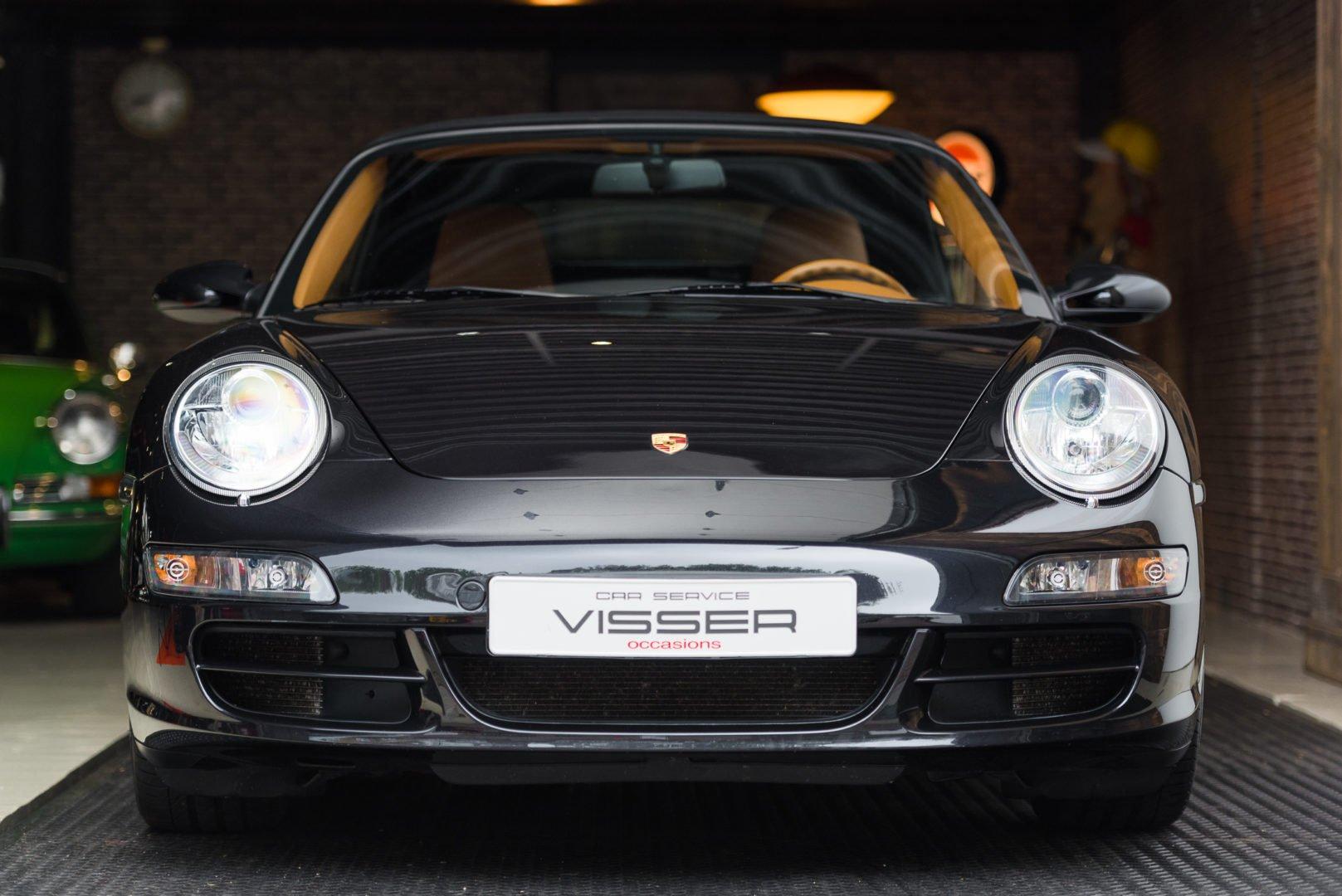 Porsche 997 Automaat Cabriolet Zwart