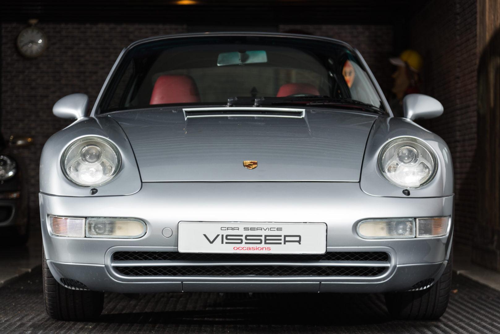 Porsche 993 Carrera 2 Tiptronic coupé Polarsilber-met.