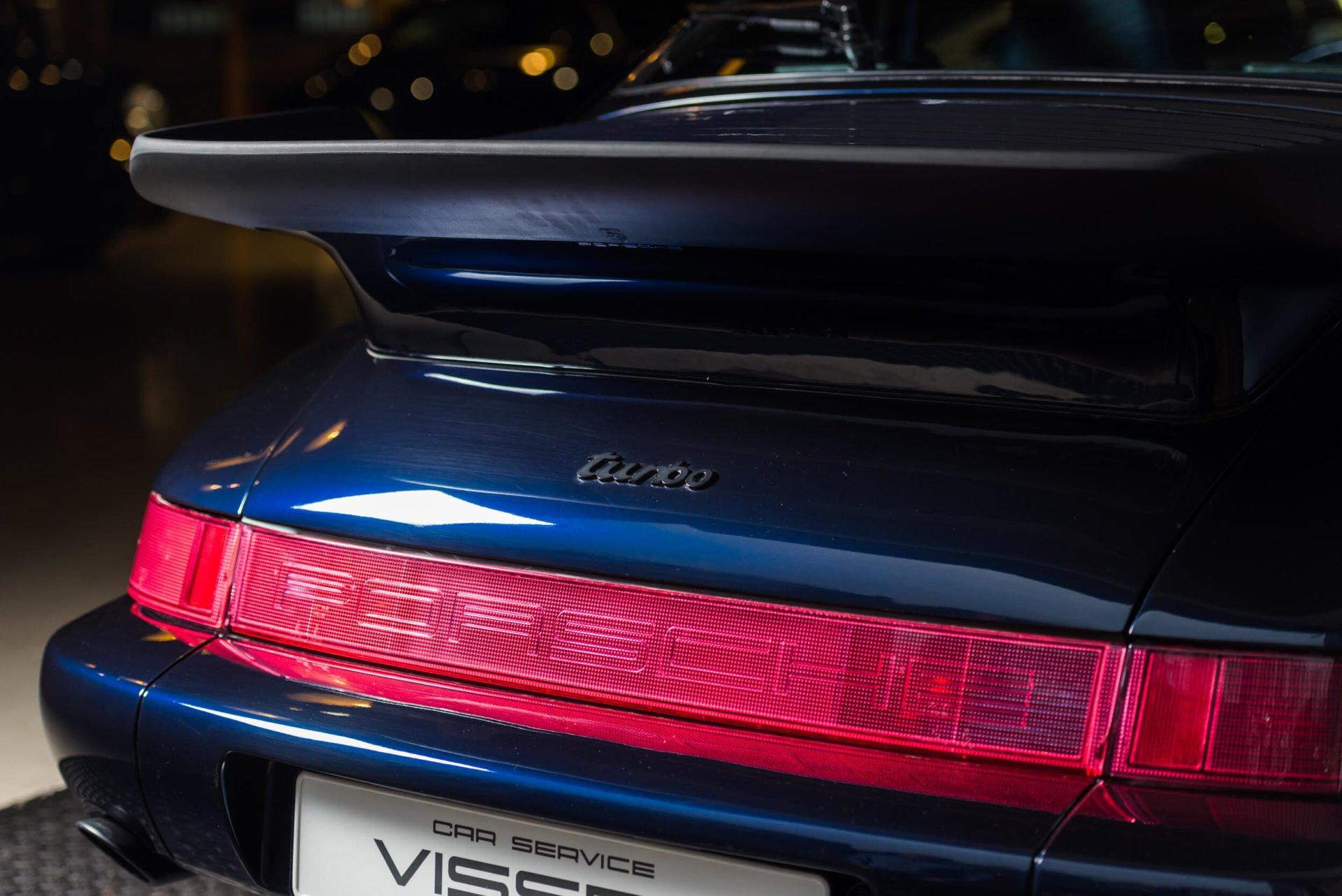 Porsche 964 Turbo Blauw -5