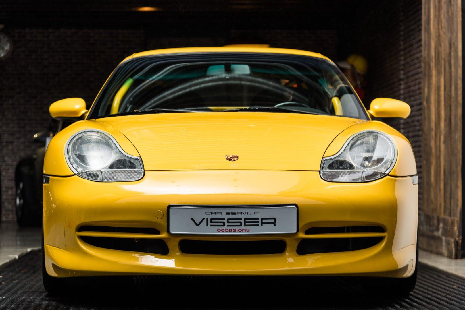 Porsche 996 GT3 Clubsport handgeschakelde coupé Speedgelb