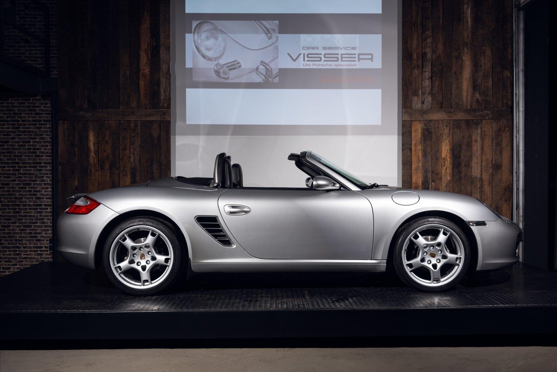 Porsche Boxster Zilver - 1