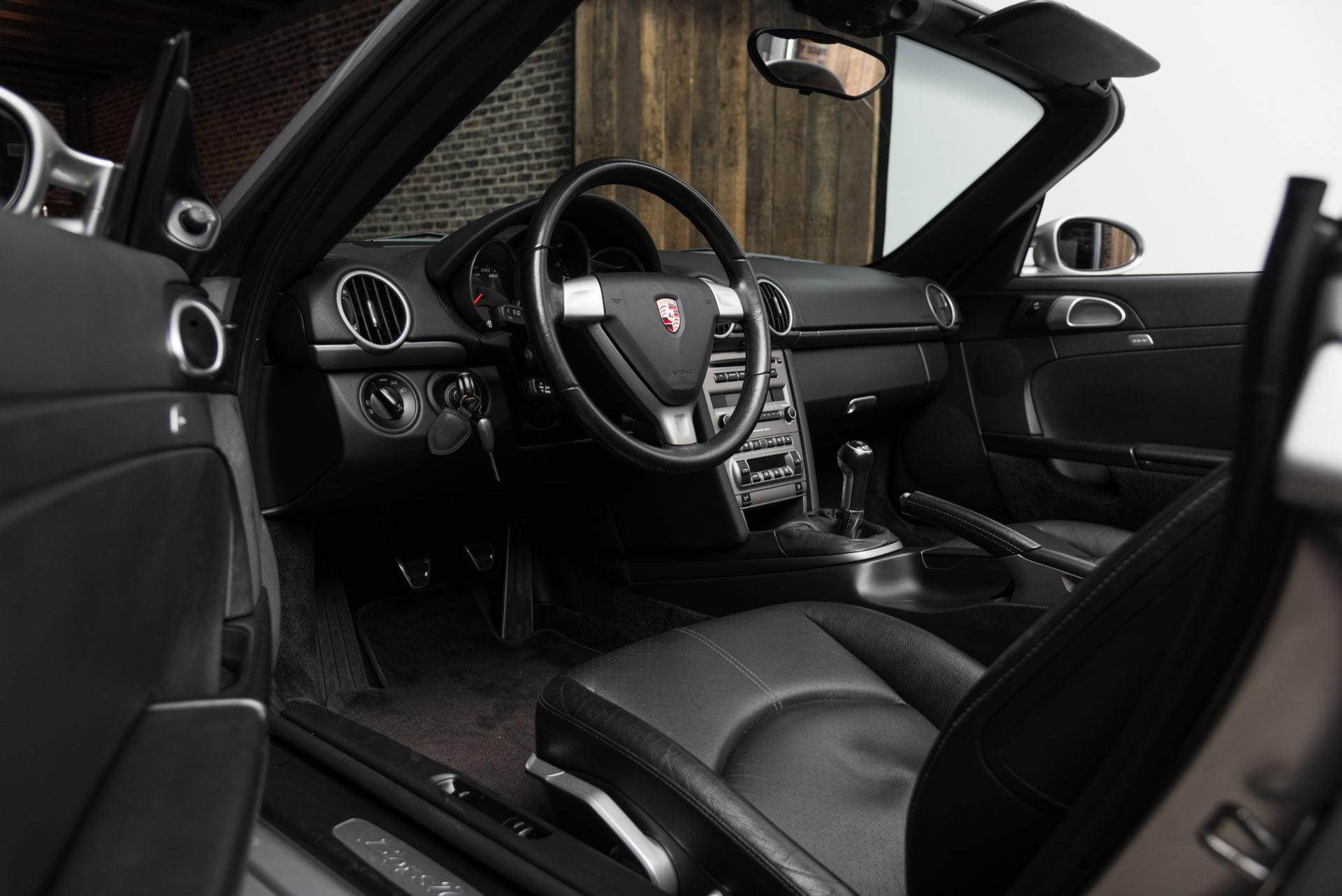 Porsche Boxster Zilver - 14