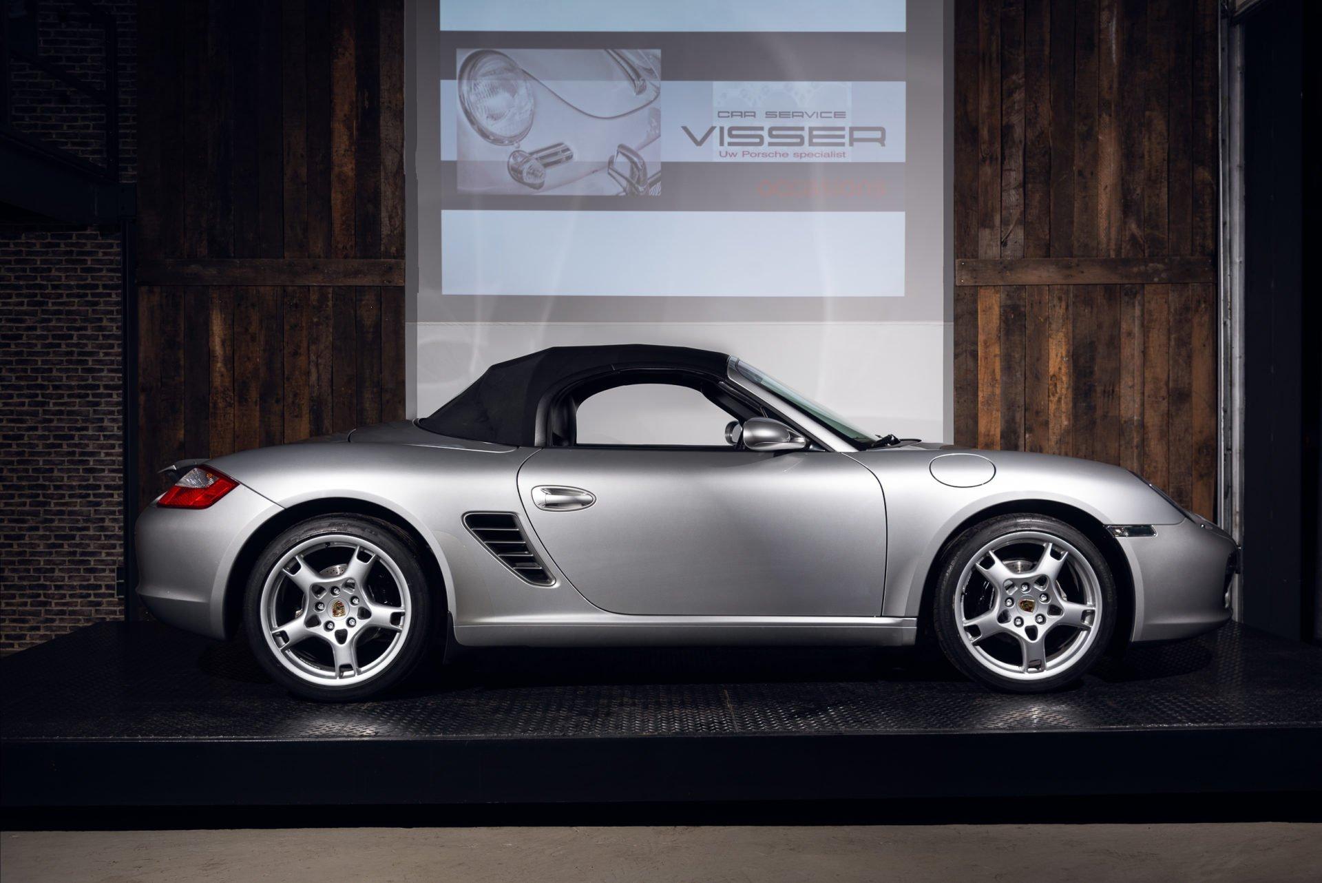 Porsche Boxster Zilver - 2