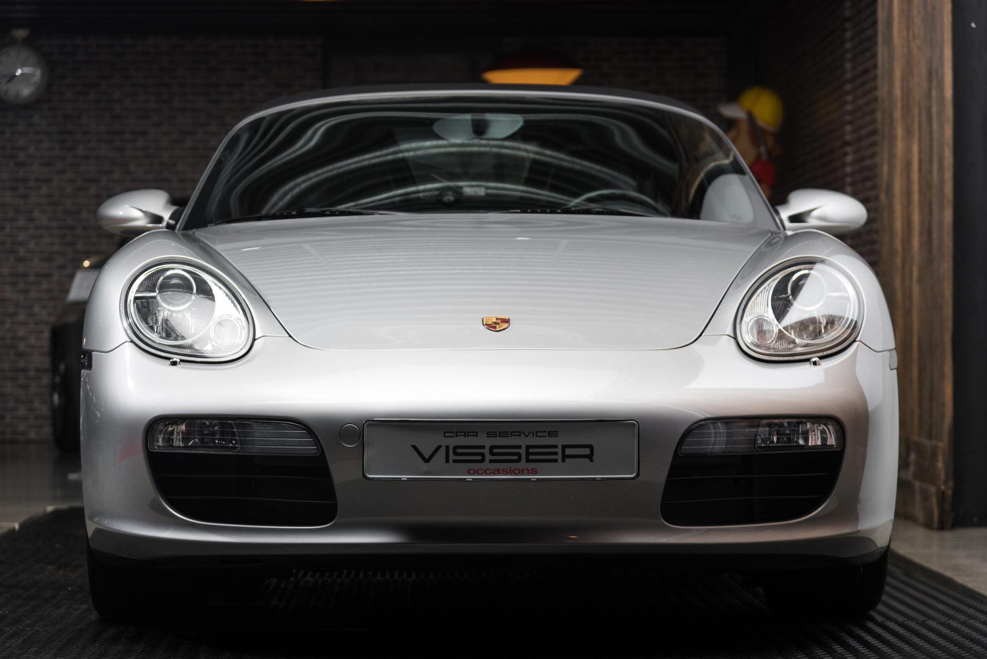 Porsche Boxster Zilver - 3