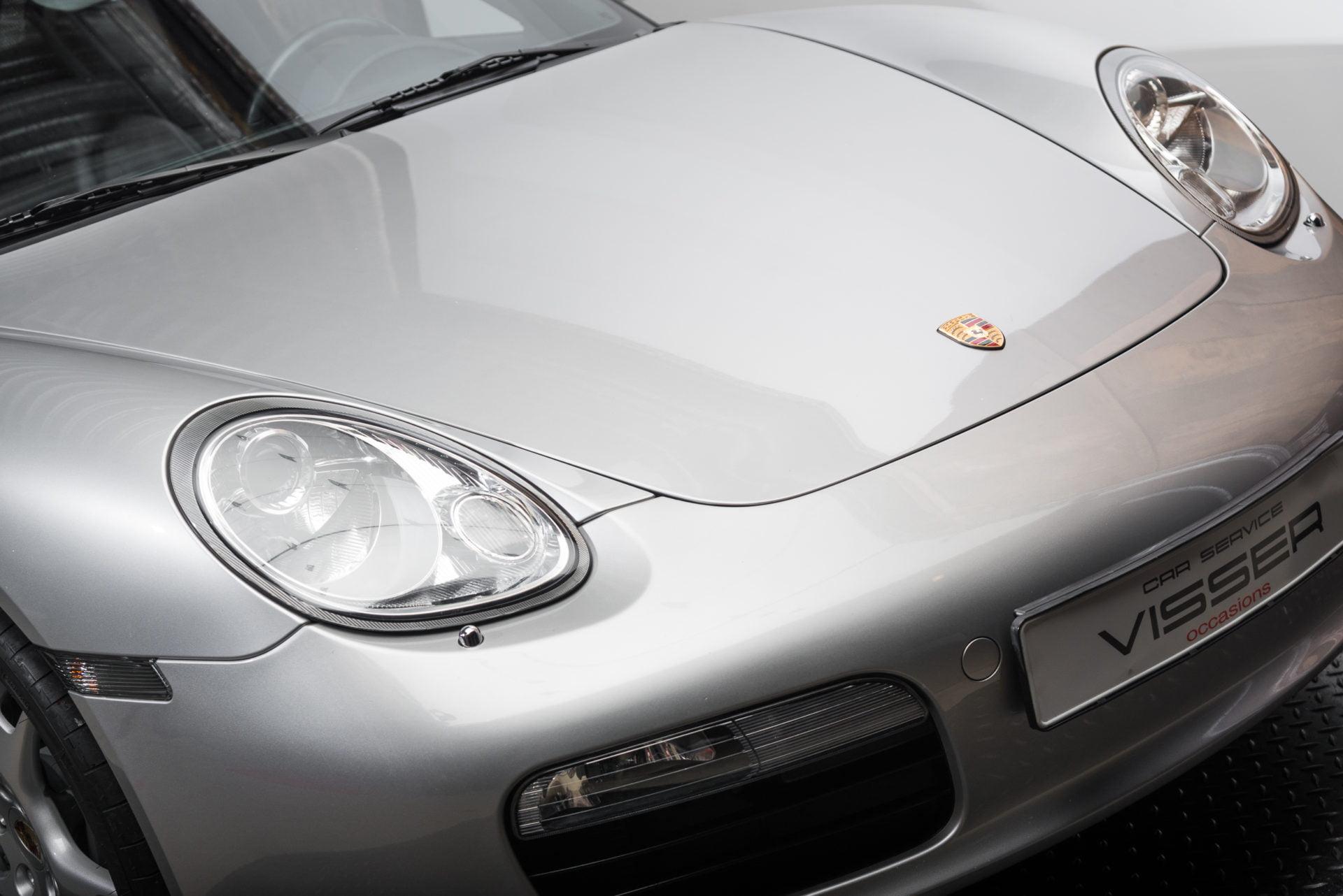 Porsche Boxster Zilver - 4