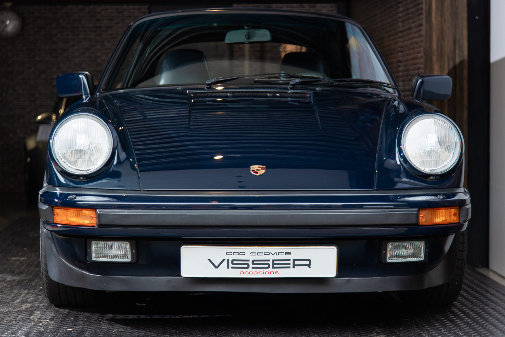 Porsche 911 3.2 G50 handgeschakelde cabriolet Dunkelblau