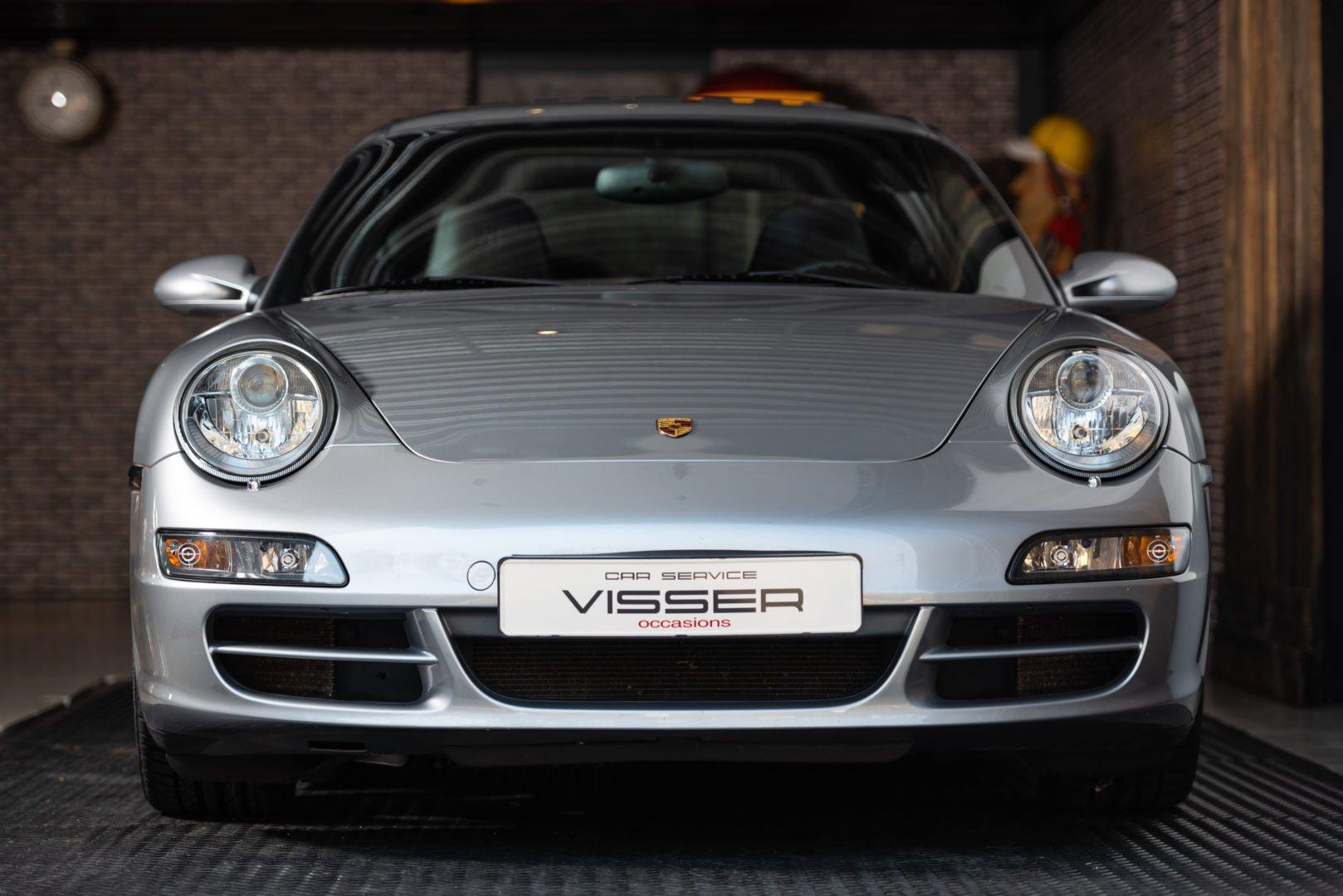 Porsche 997 4S automaat coupé GT-silber met.