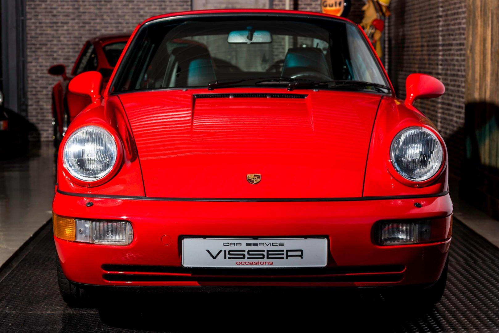 Porsche 964 Carrera 2 coupé Indischrot