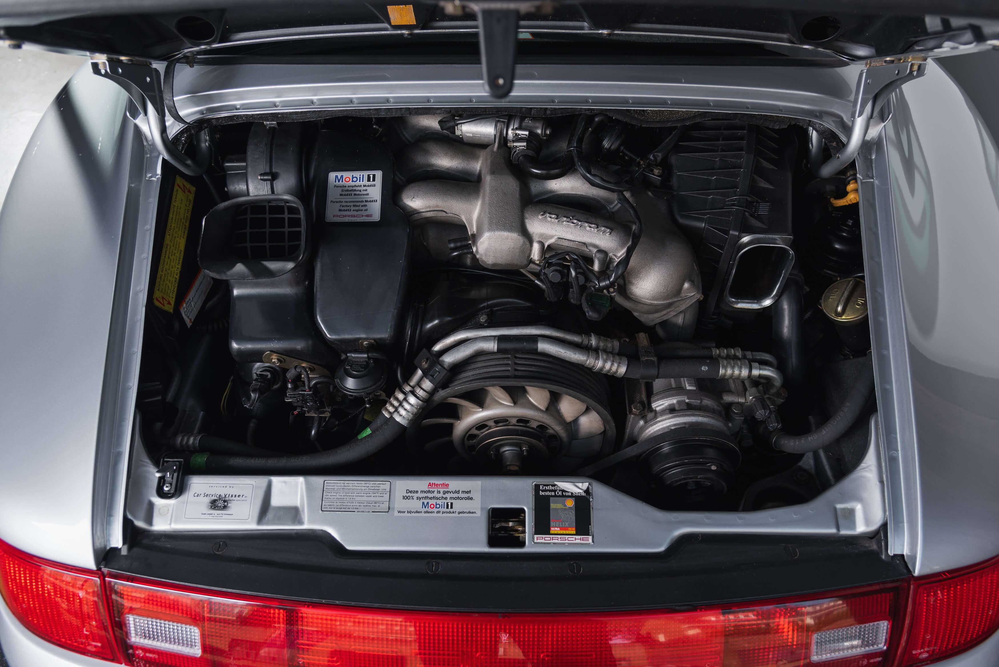 993 RS handgeschakeld Car Service Visser gespecialiseerd in Porsche - 13