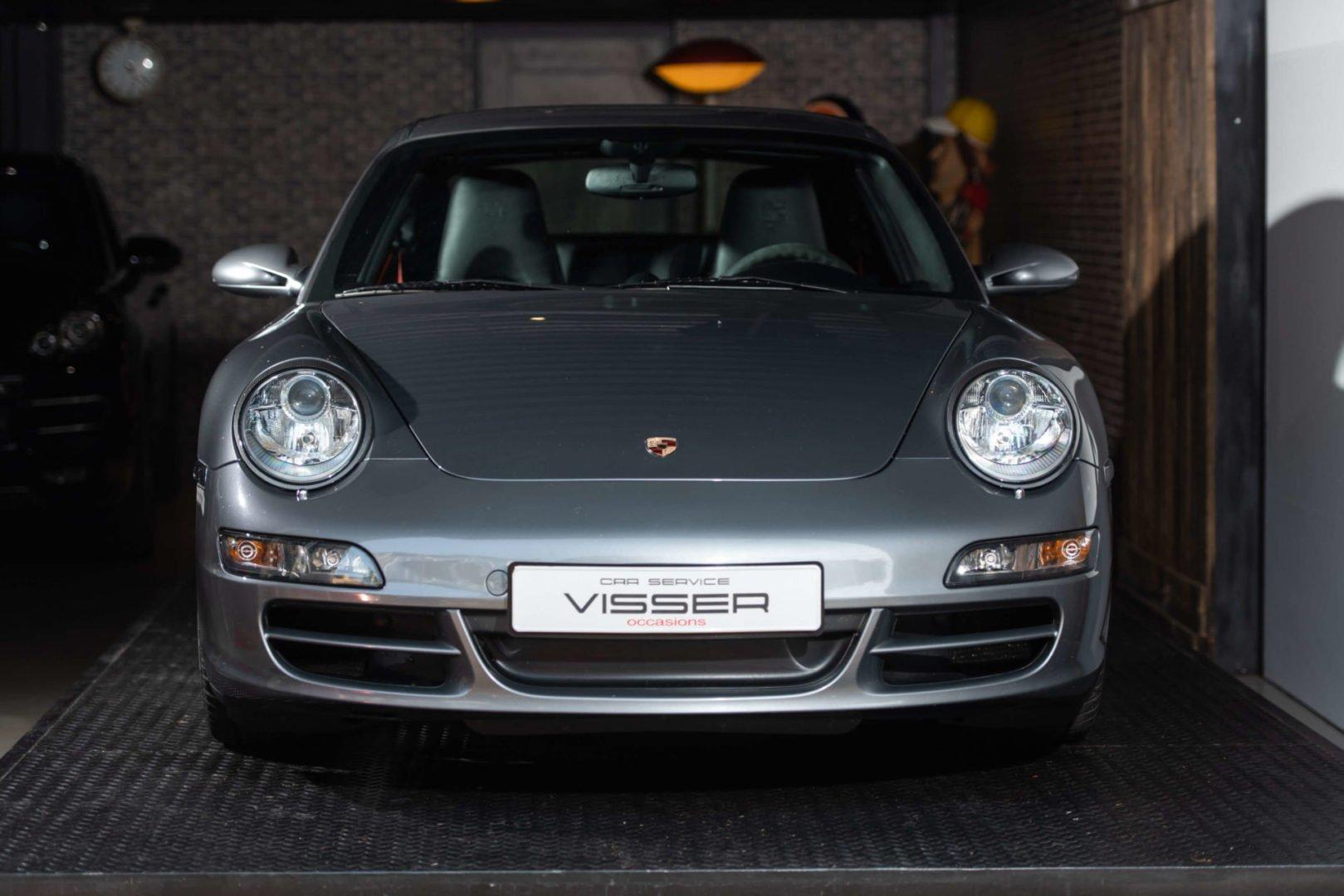 Porsche 997 2S handgeschakelde coupé Sealgrau-met.