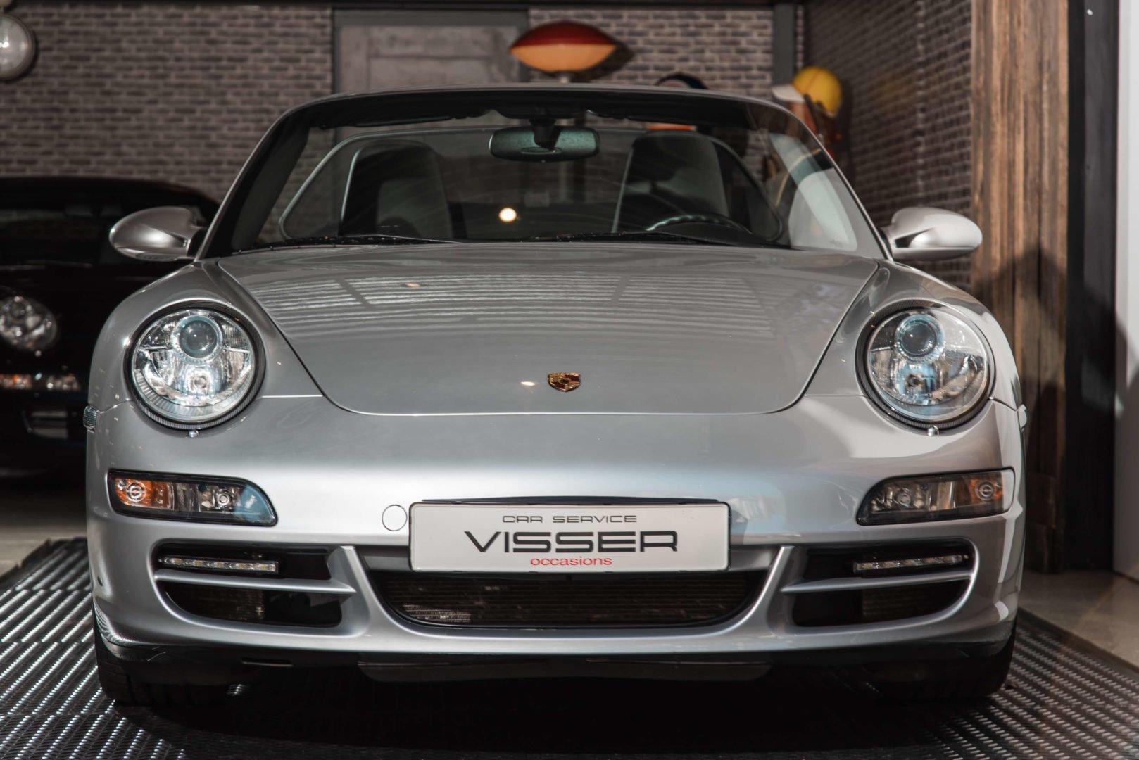Porsche 997 Carrera 2 Cabriolet Arktissilber-met.