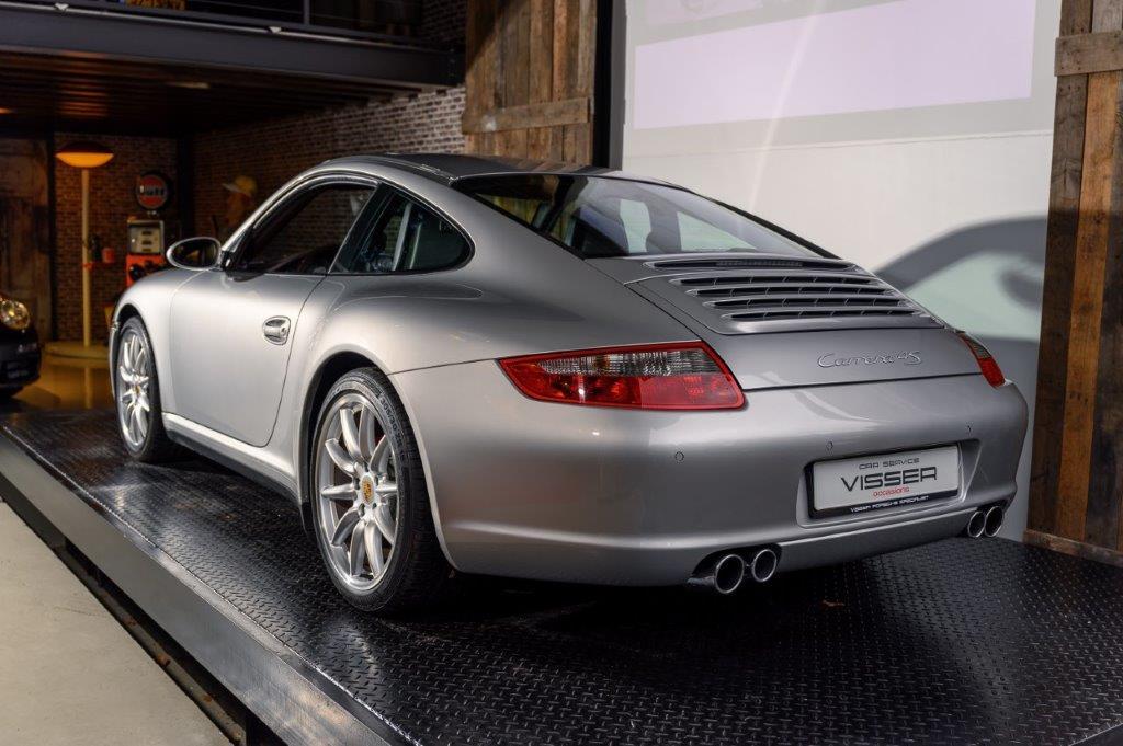 Porsche 997 4S handgeschakeld Car Service Visser Gespecialiseerd in Porsche - 8
