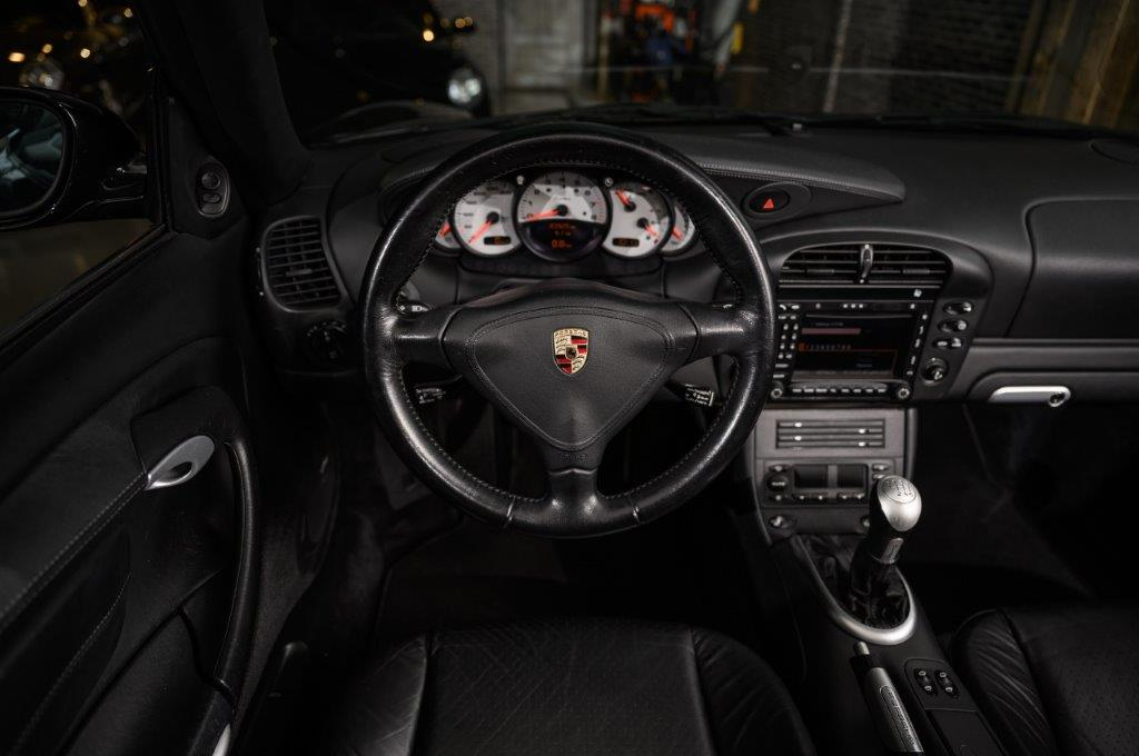 Porsche 996 Turbo Cabriolet handgeschakeld Car Service Visser Gespecialiseerd in Porsche