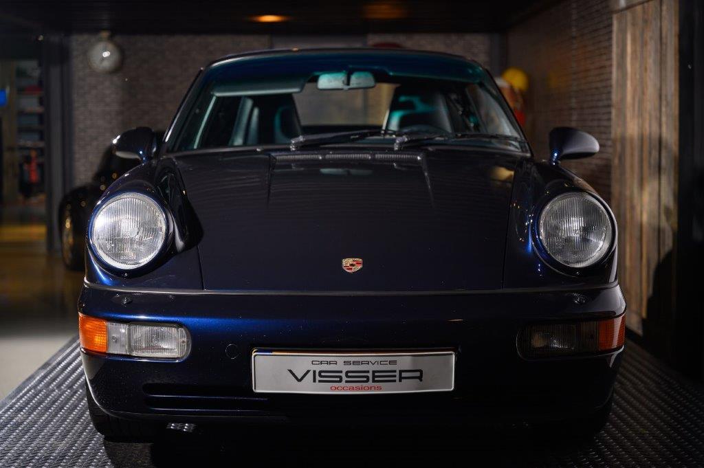 Porsche 964 Carrera 2 Cabriolet Nachtblau-met.