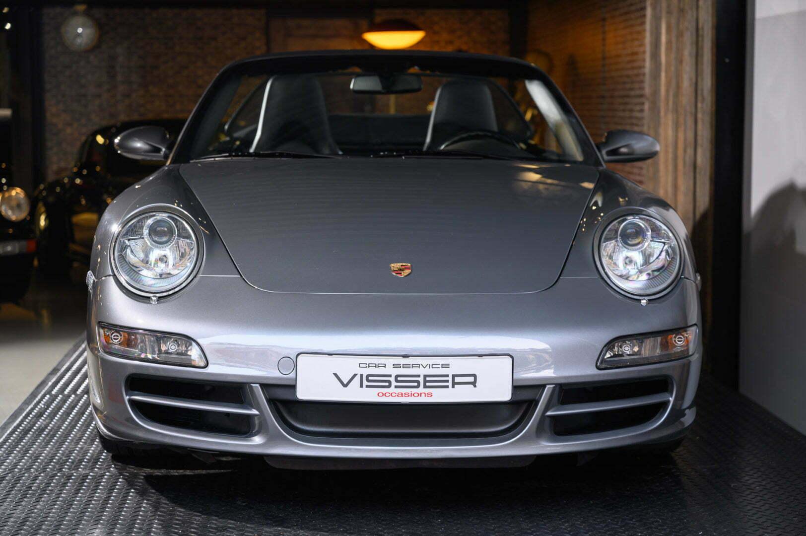 Porsche 997 2S Cabriolet Sealgrau-metallic incl. hardtop