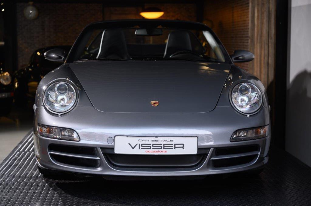 Porsche 997 2S Cabriolet Sealgrau-metallic