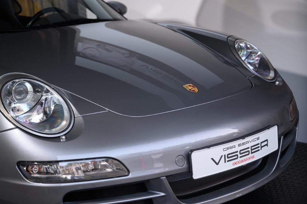 PORSCHE 997 S Carrera 2 Cabriolet Sealgrau-met Car Service Visser Gespecialiseerd in Porsche
