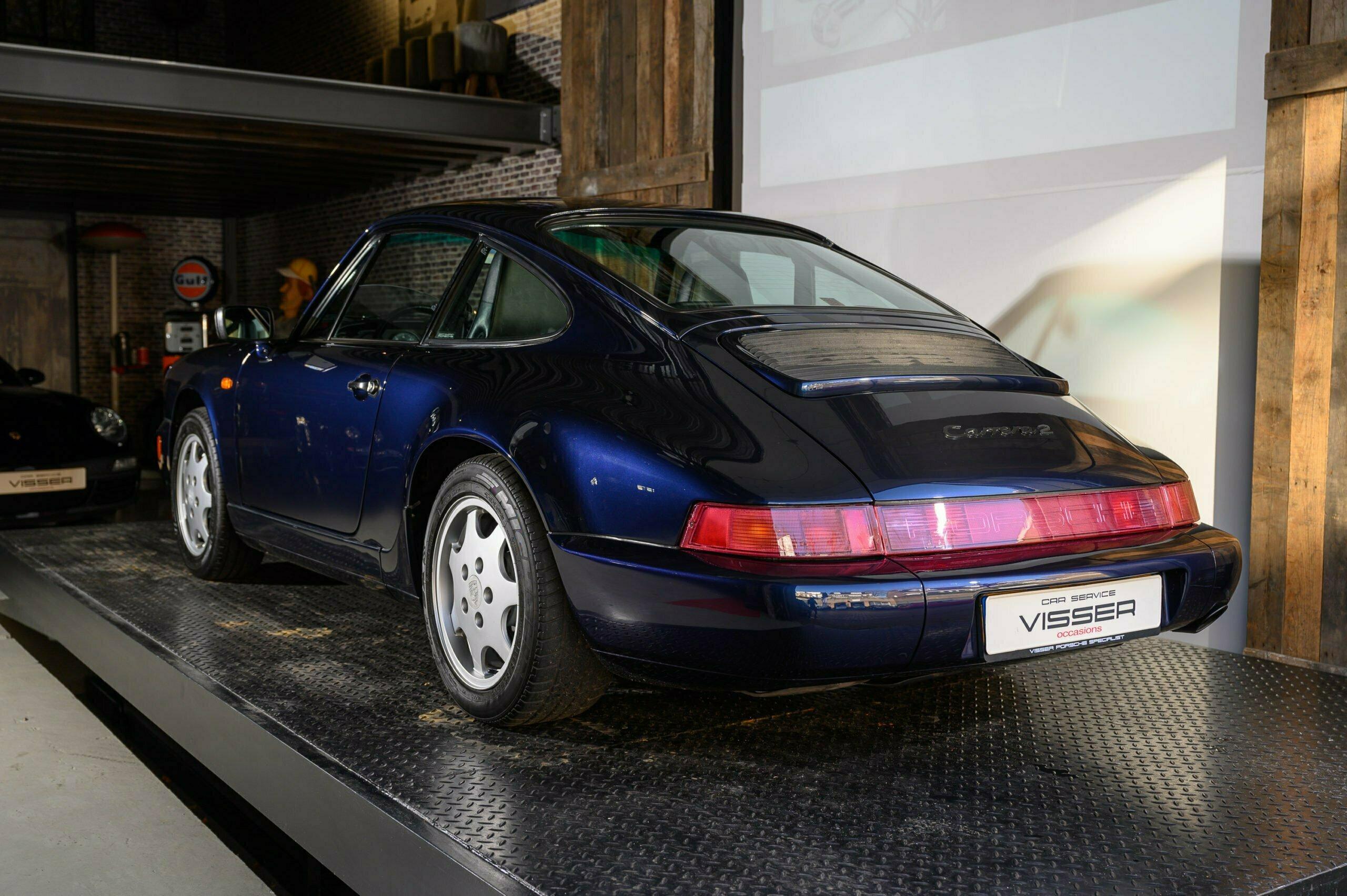 Porsche 964 Carrera 2 handgeschakeld Car Service Visser Gespecialiseerd in Porsche